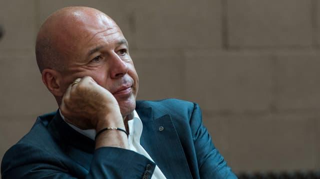 Ein nachdenklicher Fabio Regazzi.