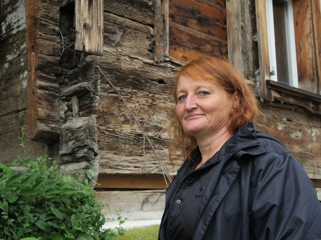 Ulrike Gollnick ist Mittelalterarchäologin und kennt die Holzbauten bestens.
