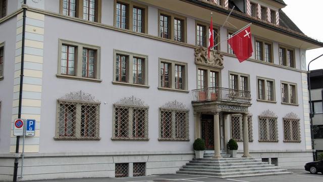 Das Rathaus in Schwyz
