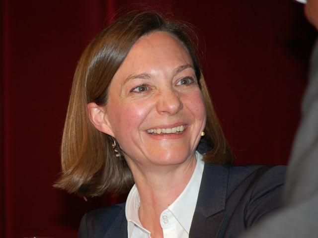 Schweizerhof-Direktorin Iris Flückiger.