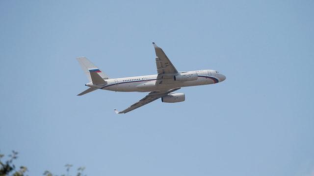 Russisches Flugzeug hebt ab