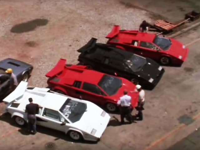Lamborghinis in «Rainman».