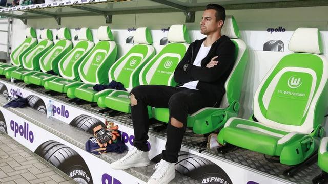 Diego Benaglio kann wegen Rückenproblemen weiterhin nicht für den VfL Wolfsburg auflaufen.
