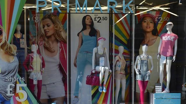 Schaufenster von Primark