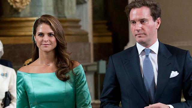Madeleine und Chris O'Neill