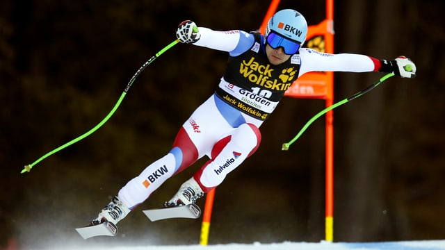 Il skiunz svizzer Patrick Küng.