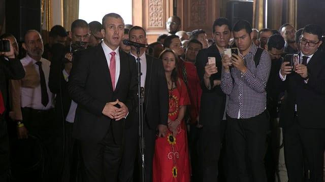 Vizepräsident Tareck El Aissami