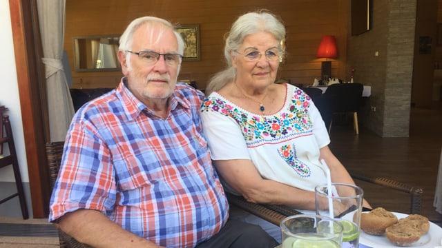 Ursula und Mario Polla verbringen ihren Lebensabend in der Altersresidenz.
