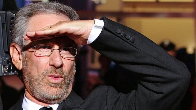 Porträt Steven Spielberg.