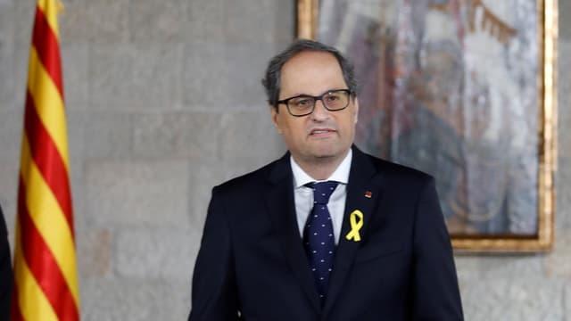 il nov president regiunal da  la Catalugna Quim Torra