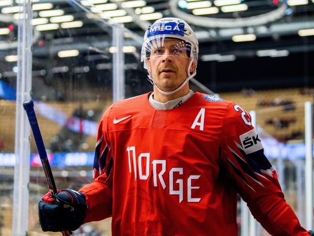Anders Bastiansen (38) lief 110-mal für die norwegische Nationalmannschaft auf.