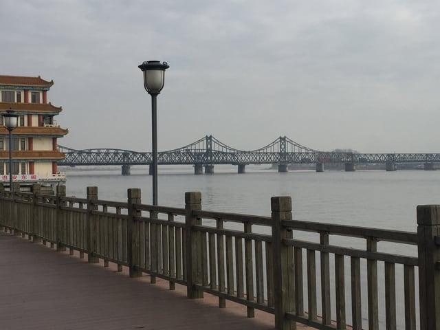 Brücke zu Nordkorea.