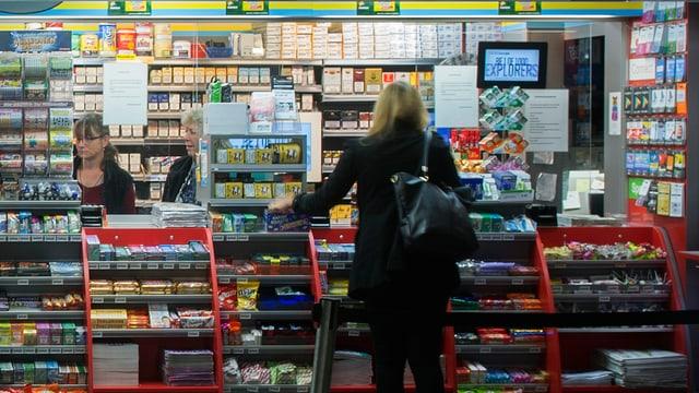 Lifestyle-Gentests vom Kiosk