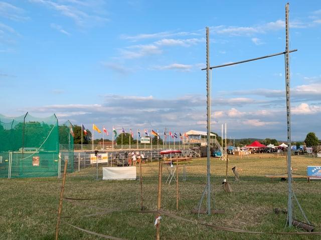 Die Sportanlage der Highland Games.