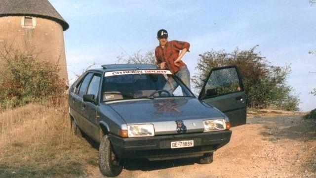 Ein Citroen BX14 RE mit seinem Besitzer Chruti Da Goya.