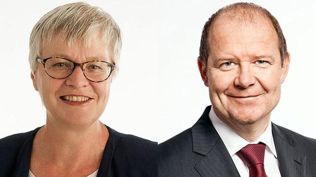 Rosmarie Quadranti und Valentin Vogt