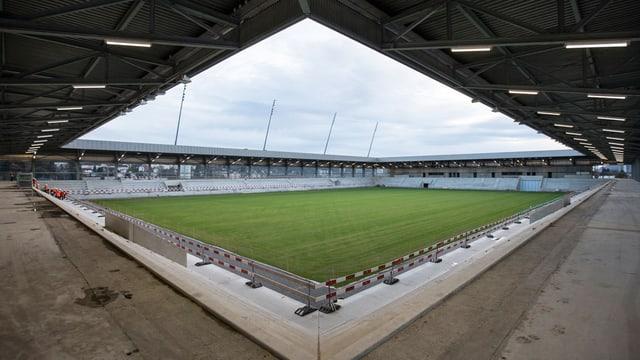 Stades de Bienne - die neue «Tissot Arena» - im Bau