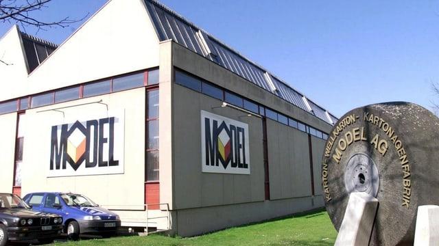 Model-Firmensitz im thurgauischen Weinfelden