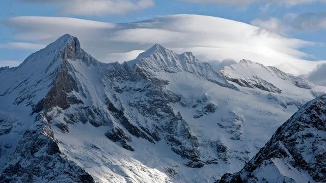 Föhnwolken über Eiger, Mönch und Jungfrau