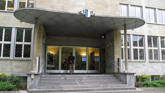 Eingangsbereich der ZHB