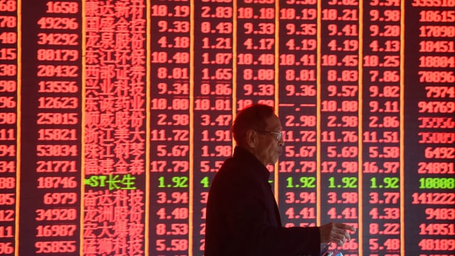 Chinesische Börsenkurse