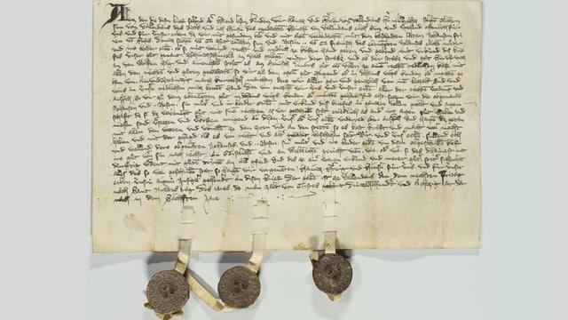 Document da l'archiv.