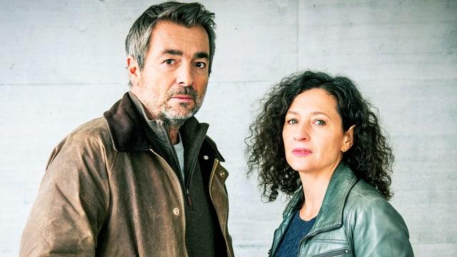 Stefan Gubser und Delia Mayer.