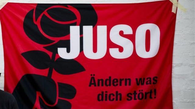 Juso-Plakat: JUSO Ändern was dich stört!