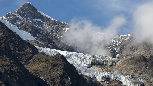 Er en la Svizra vesan ins la midada dal clima: il meglier vi dals glatschers che van adina pli fitg enavos.