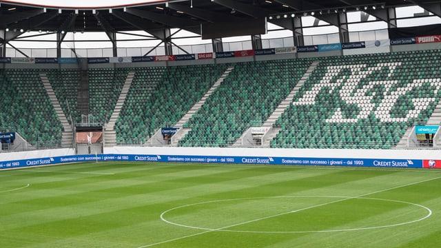 Bild des St. Galler Stadions.