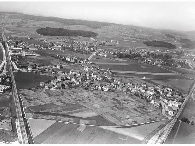 Luftbild von Bümpliz
