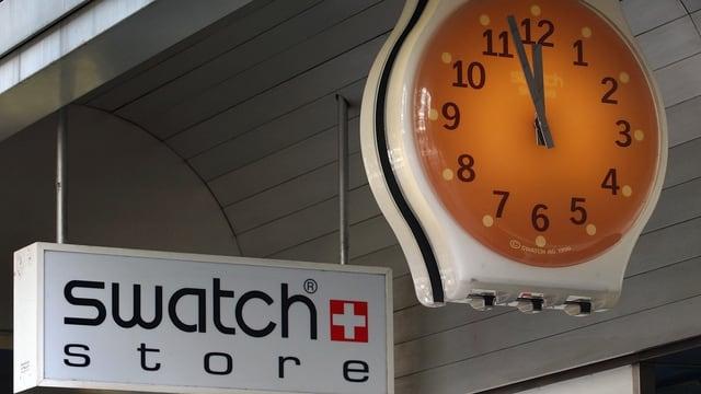 Logo da Swatch.