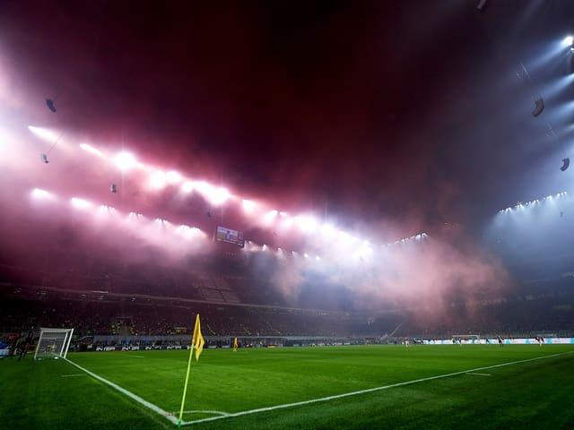 Das San-Siro-Stadion in Mailand.
