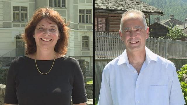 Anna GIacometti e Marco Giacometti.