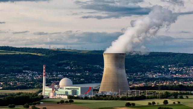 Kernkraftwerk Leibstadt.