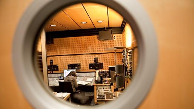 Im Hörspielstudio