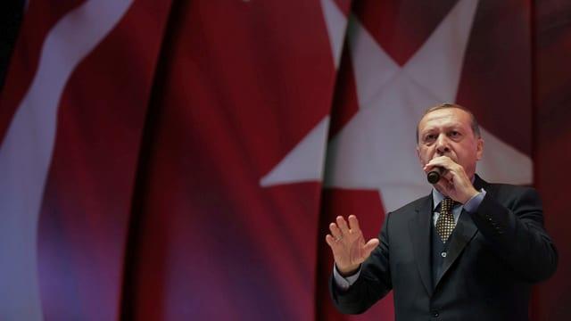 Portrait Recep Tayyip Erdogan.