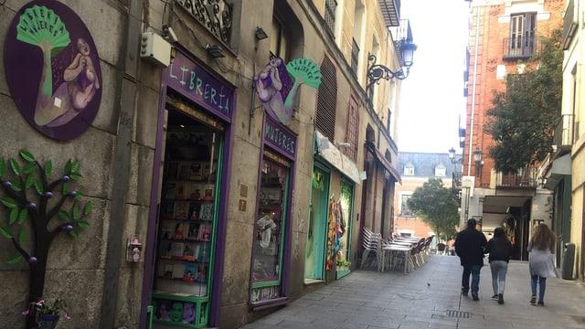 Die Librería Mujeres ist eine der bedeutendsten Bastionen der spanischen Frauenbewegung.