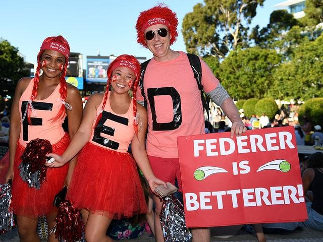 Federer-Fans