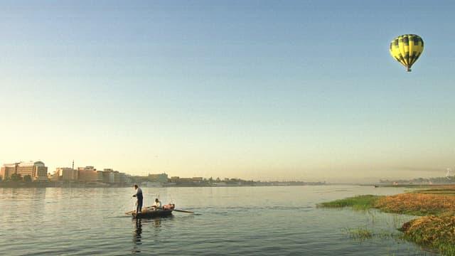 Anfangs Juli erreicht das Nil-Hochwasser Ägypten.