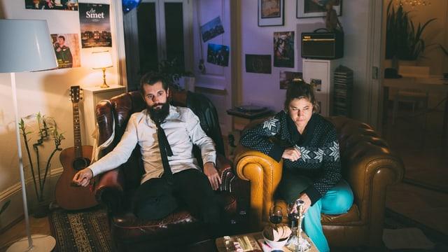 Anic und Andi begleiten dich durch die «Lange Nacht der Kurzen Filme»
