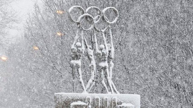 Umans tegnan ils rintgs olimpics.