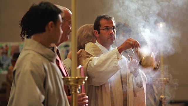 Pfarrer in der Dreifaltigkeitskirche in Bern.