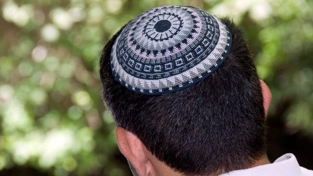 Ein Jude mit Kippa