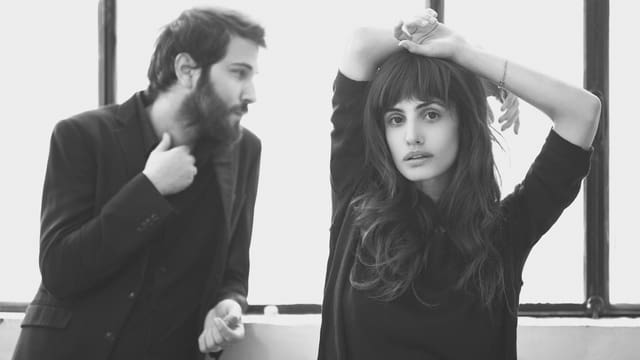 Lola Marsh sind Gitarrist Gil Landau und Sängerin Yael Shoshana Cohen.