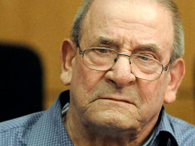 Porträt NS-Kriegsverbrecher Heinrich Boere