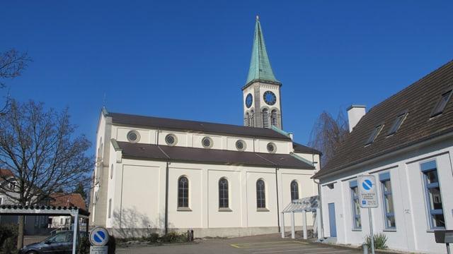 Die Kirche von Oberentfelden.