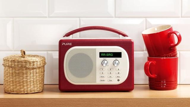 Radio DAB sper cuppinas da café.