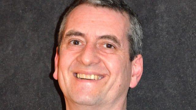 Portrait des IVR-Direktors Martin Gappisch, lachend.