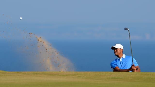 Tiger Woods will den Tücken des Platzes in Muirfield trotzen.